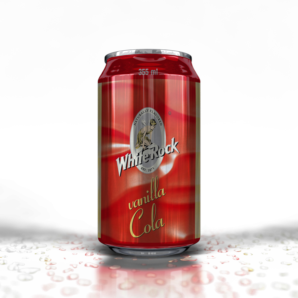 Can White Rock Vanilla Cola 1