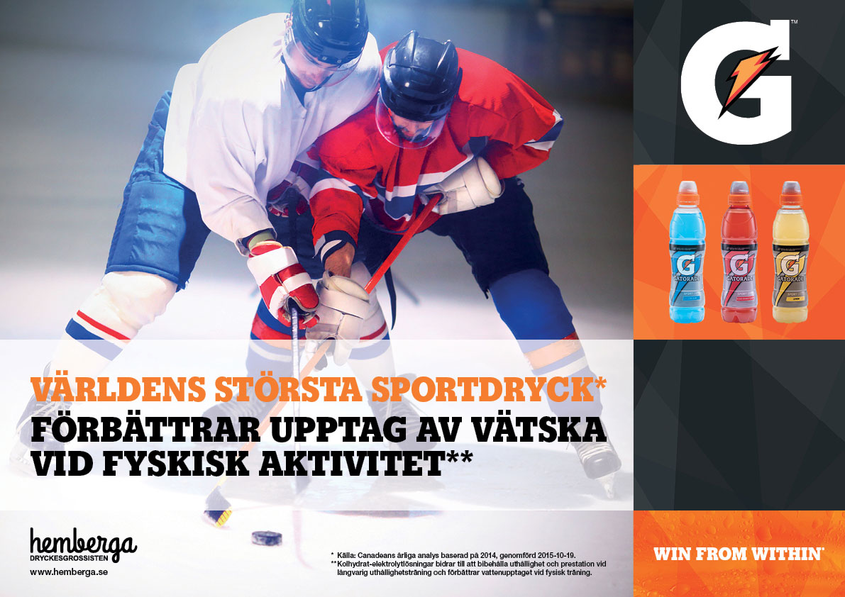 Gatorade Pris Mini Poster A3 Hockey